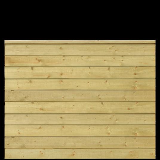 Plus Klink Profil-Zaun f. 174x129 cm inkl. Top-Abschlussbrett