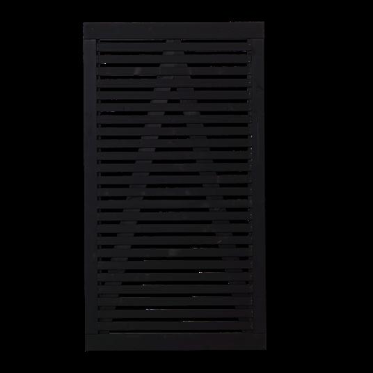 Plus Tokyo Einzeltor 100x180 cm - schwarz grundiert