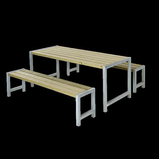 Plus Plankensatz m/Tisch + 2 Bänke