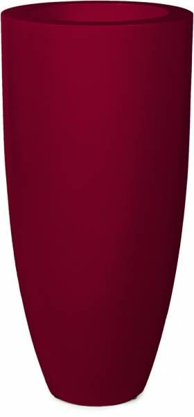 PREMIUM LUNA Pflanzgefäß - rubinrot