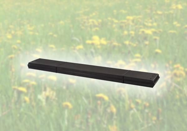 2 Stück PIPE Planken WPC - Farbe schiefergrau