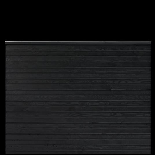 Plus Plank Profil-Zaun f. 174x129 cm inkl. topBrett