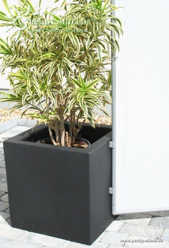gro er pflanzk bel f r paravent farbe schwarz holidaygarden. Black Bedroom Furniture Sets. Home Design Ideas