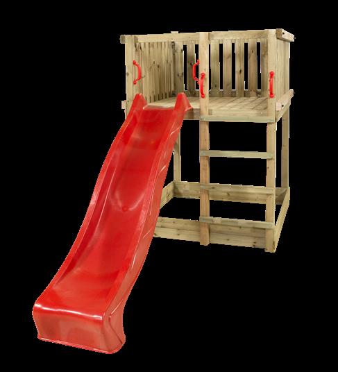 Plus Play Spielturm einschl. roter Rutsche