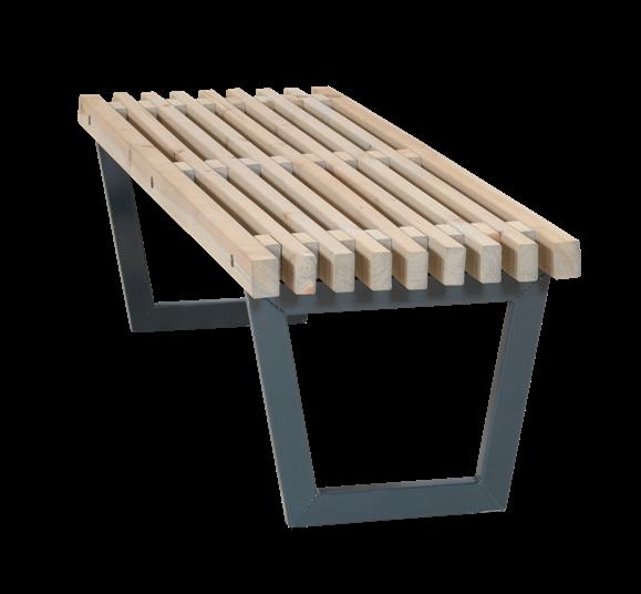 Plus Siesta Bank/Tisch L:140cm D: 49cm H: 43cm