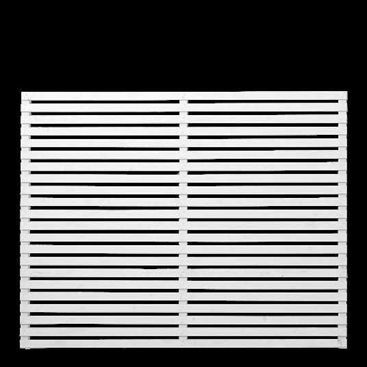 Plus Tokyo Zaun, 180x140 cm weiß farbgrundiert