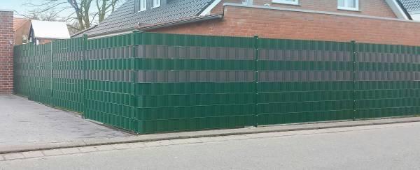 Sichtschutzstreifen PVC für Doppelstabmatten