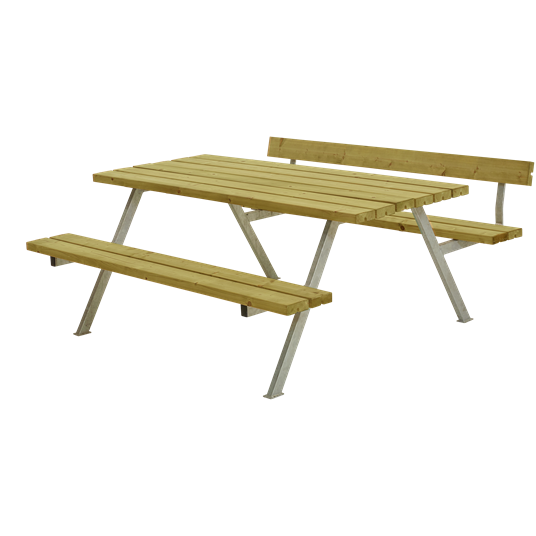 Plus Alpha Sitzgruppe m/1 Rückenlehne 177x173x73/45 cm. KDI