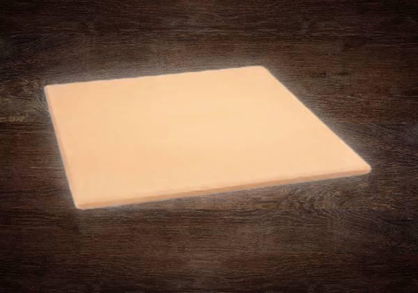 Pizzastein rechteckig, 38 x 35,5 x 1,1 cm