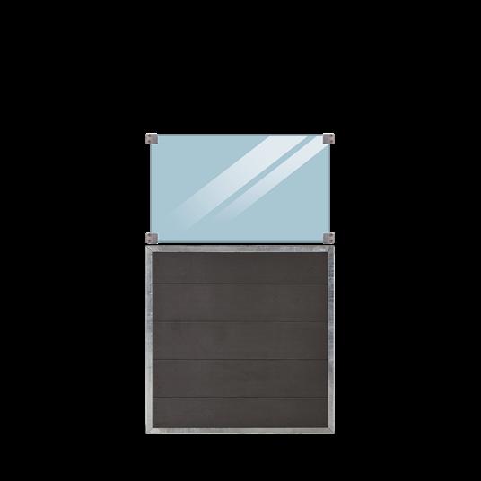 Plus Futura Zaun m/Glas 90x144cm