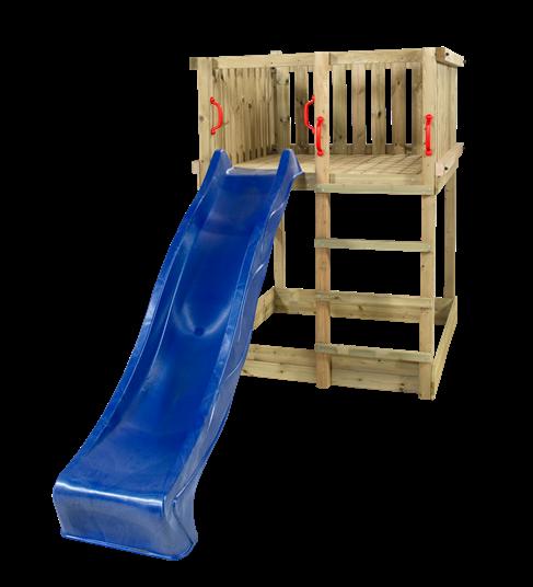 Plus Play Spielturm einschl. blauer Rutsche