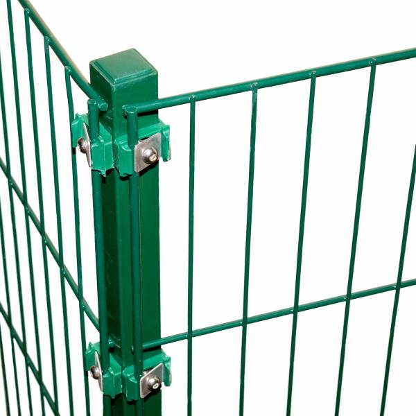 Kunststoffkappe für Zaunpfosten 60 x 60 mm