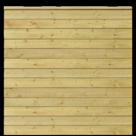 Plus Klink Profil-Zaun f. 174x166 cm inkl. Top-Abschlussbrett