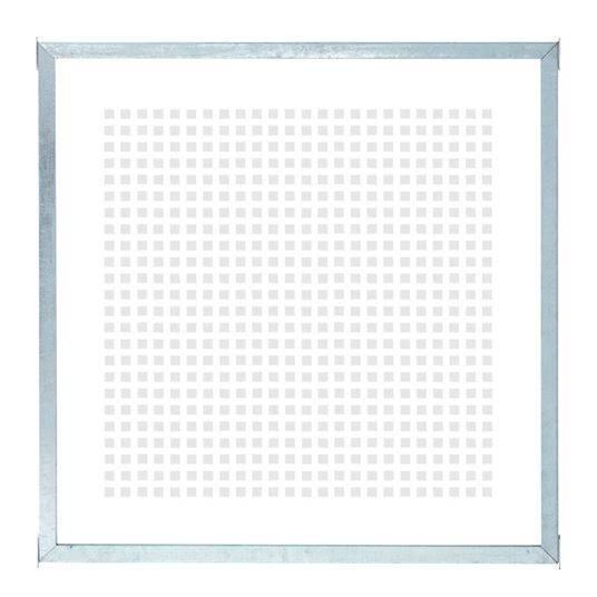 Plus CUBIC Modul-Element m/6 mm Glas (m/Druck) 90x90 cm