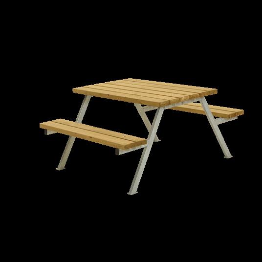 Plus Alpha Sitzgruppe 118x161x73/45 cm. unbehandelte Lärche
