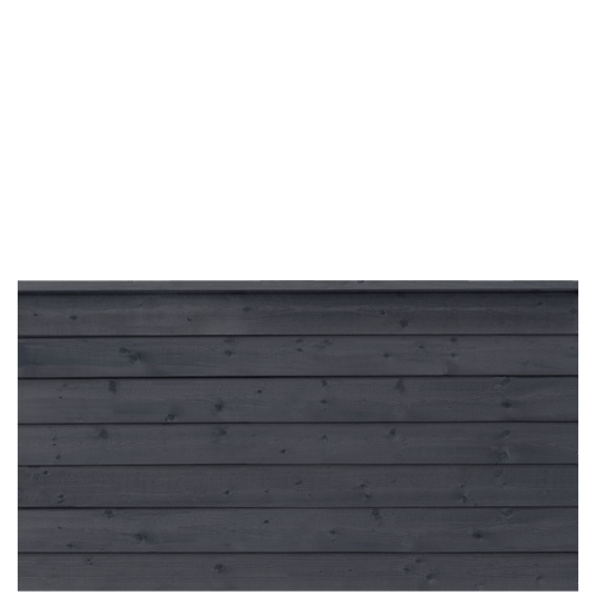 Plus Klink Profil-Zaun f. 174x91 cm inkl. Top-Abschlussbrett