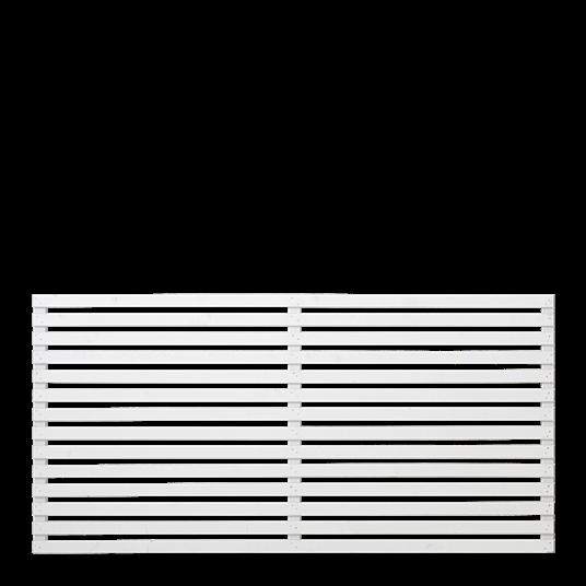 Plus Tokyo Zaun, 180x90 cm weiß farbgrundiert