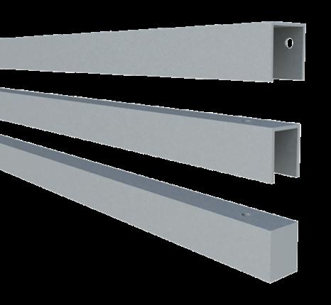Plus Stahlrahmen f/ Artura 180x134 cm