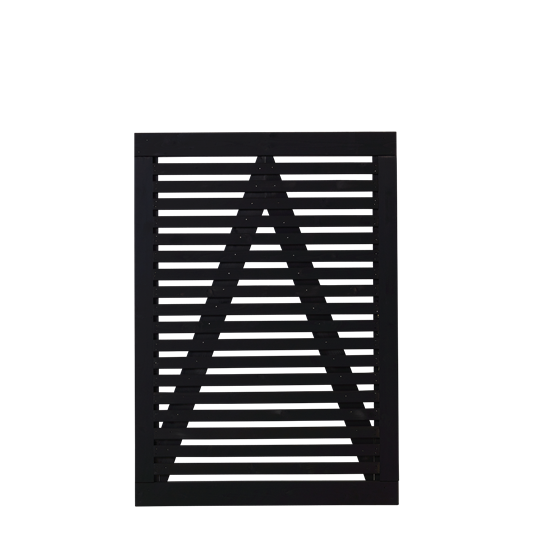 Plus Tokyo Einzeltor 100x140 cm - schwarz grundiert