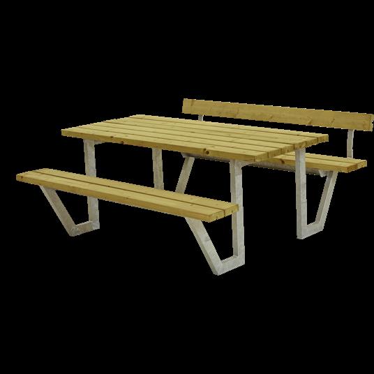 Plus Wega Sitzgruppe m/1 Rückenlehne 177x173x73/45 cm. KDI