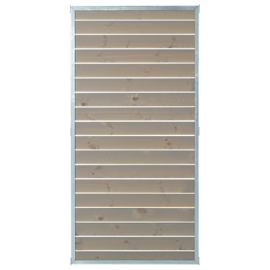 Plus CUBIC Modul-Element m/Holzverkleidung 90x180 cm