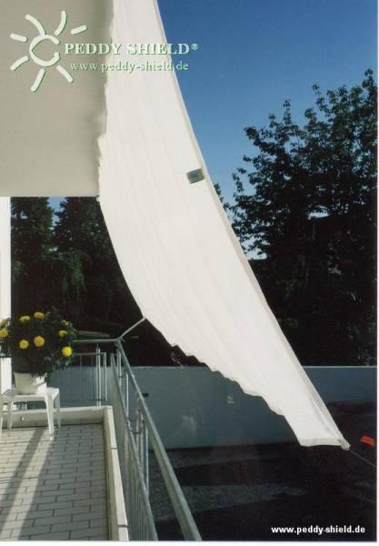 Bausatz Balkon-II für vorgebaute Balkone mit Handlauf und Decke