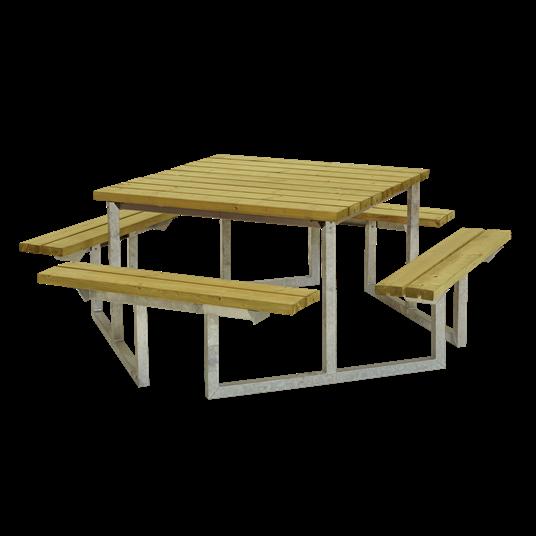 Plus Twist Sitzgruppe 204x204x73/45 cm. KDI