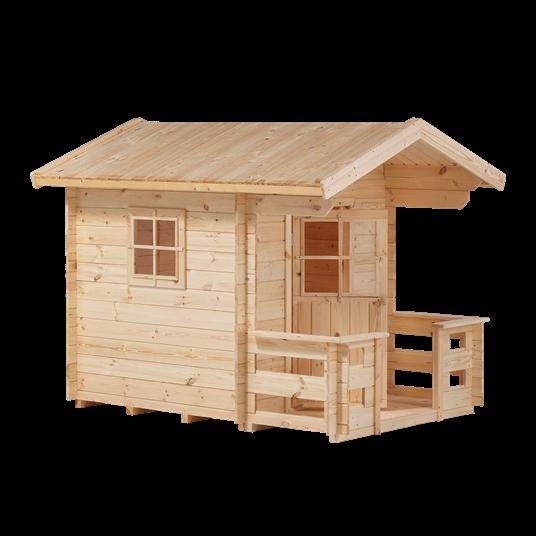 Plus Spielhaus mit Terrasse