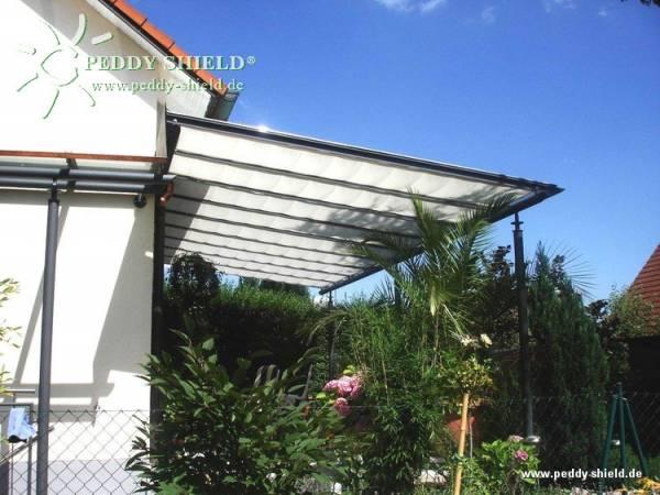 Sonnensegel Breite 88 cm - Farbe hell elfenbein