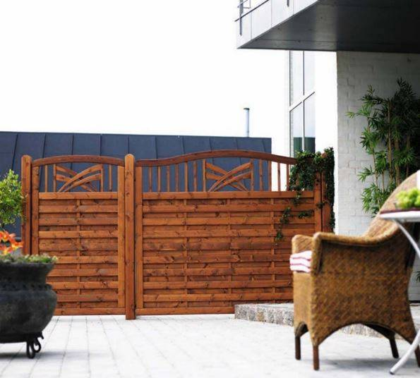 Plus Rondo Terrassenelement 180x142/150 cm