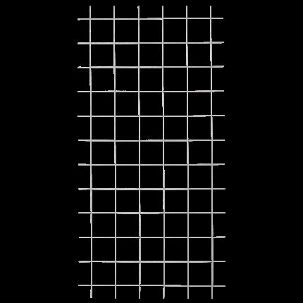 Plus Stahlspalier 900x1800mm Ø5mm