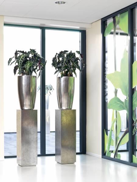 PANDORA Pflanzgefäß big - silver leaf