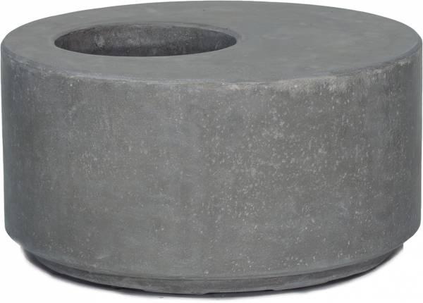DIVISION Pflanzobjekt rund - anthrazit