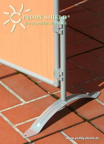 Combi-Ständer für Paravent - auf Rasen oder Terrasse