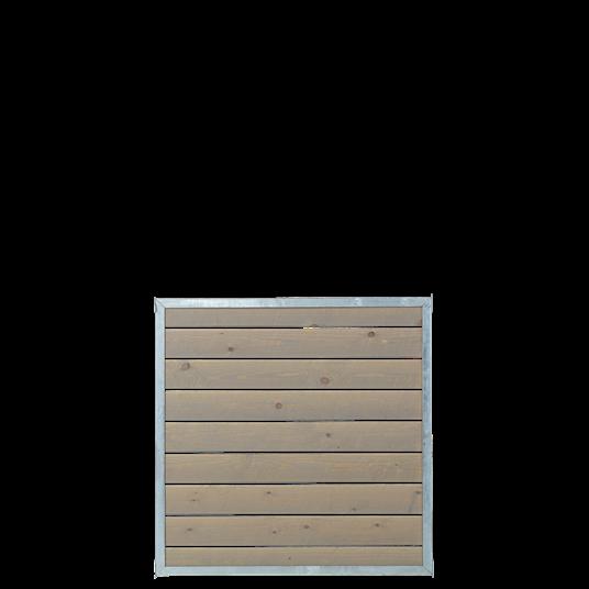 Plus CUBIC Modul-Element m/Holzverkleidung 90x90 cm
