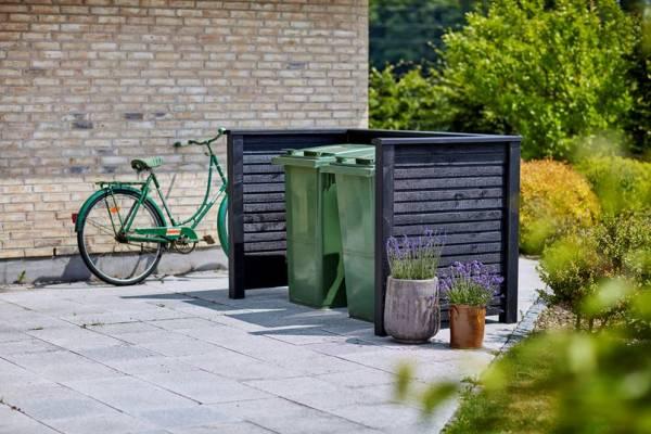 Plus Plank Profil- Mülltonnenabtrennung 192x108x104 cm. (LxBxH) Selbstmontage
