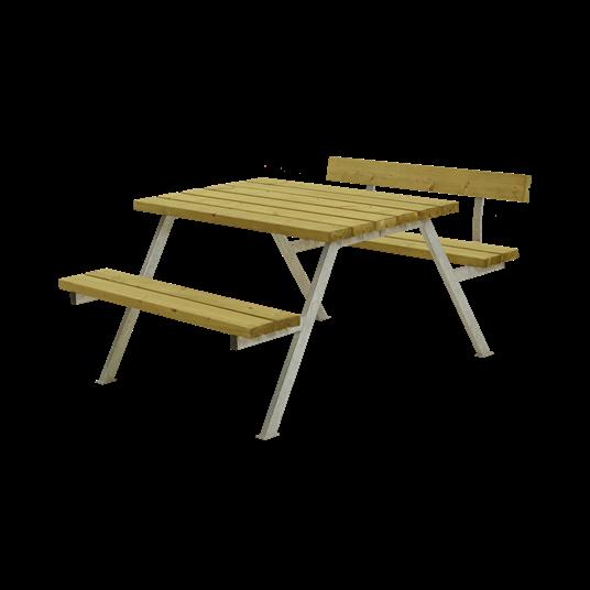 Plus Alpha Sitzgruppe m/1 Rückenlehne 118x173x73/45 cm. KDI