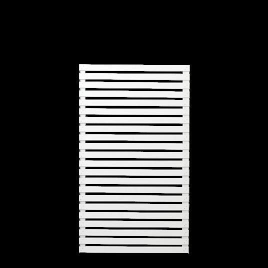 Plus Tokyo Zaun, 83x140 cm weiß farbgrundiert