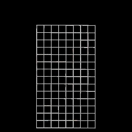 Plus Stahlspalier 800x1400mm Ø5mm 10x10cm