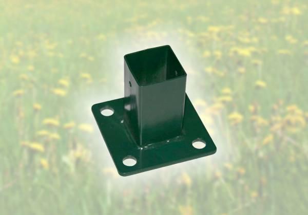 Standfuß für Vierkantpfosten 40 x 40 mm