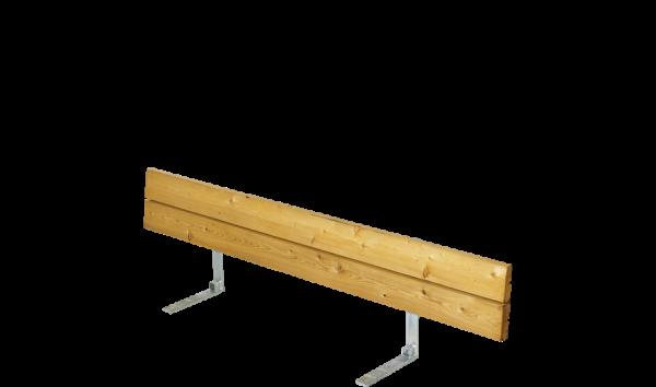 Plus Lehne für Plankenbank