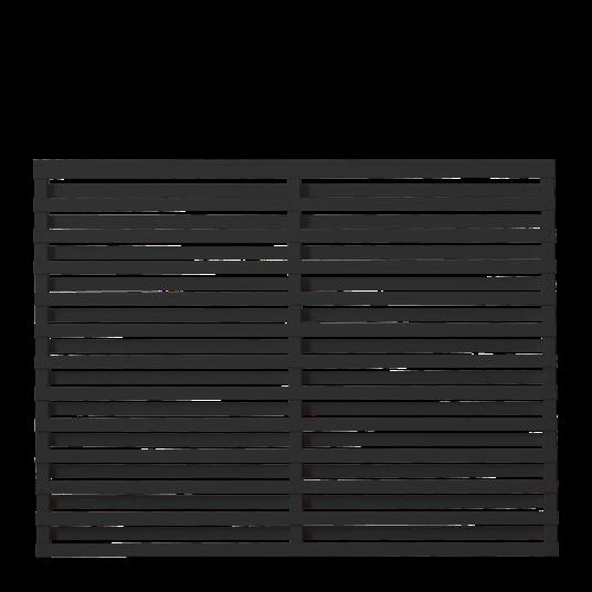 Plus Osaka Zaun 180x136 cm - schwarz behandelt