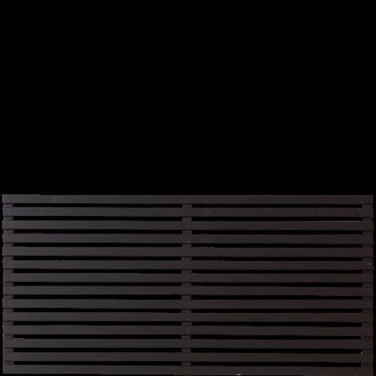 Plus Tokyo Element 180x90 cm - Farblich behandelt schwarz
