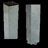 Plus Stahl-Pfosten feuerverz. 80x80mm x236cm zum Eingraben