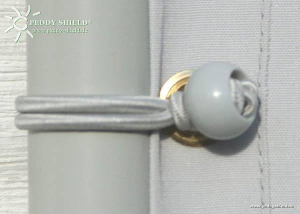 Tuchspanner - 6 Stück - Farbe grau
